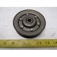 "Dematic 0486913932 4.41"" OD A B Belt V-Groove Idler Pulley 1/2"" Bore"