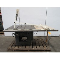 """Delta Rockwell 34-395 12""""-14"""" Tilting Arbor Saw Table Saw 5hp 230/460V 3ph"""
