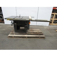 "Delta Rockwell 34-350 12""-14"" Tilting Arbor Saw Table Saw 5hp 230/460V 3ph"