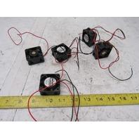 San ACE 40 109P0424H602 40 mm Fan  24 VDC 8 CFM 8300 RPM Lot of 5