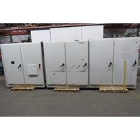 "Hoffman AMDD847724FTC 237""x84""x24"" 6 Door Electrical Enclosure JIC W/Back Plane"