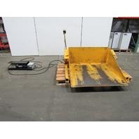 "Econo Lift DOTRT10 1000Lb 115VAC Load Mover Tilter Handler 50x50""Deck 45° Tilt"