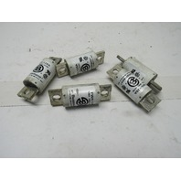 Bussmann FWH-125 125 Amp 500V Semi-Conductor Fuses Lot of 5