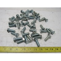 "1/2-13 x 1-1/4"" Hex Head Cap Screw Grade 5 Bright Finish Lot of 50"
