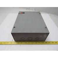 "Cutler Hammer C799AG9 Series A1 9"" x 12"" x 4"" Electrical Enclosure Junction Box"