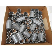 "1"" Rigid Conduit Coupling Mixed Manufacture Lot Of 65"