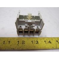 Cutler Hammer C320KGT14 Ser A1 3 NO 1 NC Contact Auxiliary Contactor