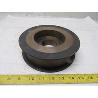 """Dodge 6.54 x 1-7/8"""" Flat Belt Pulley Sheave 1610 TL Bushed 3850RPM"""