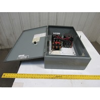 "8736SE02S 8736SEG2V02S Size 3 Reversing Motor Starter W/29""x18""x8"" Enclosure"