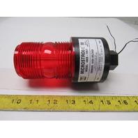 Tomar Microstrobe IV Model 490S-120 120V 50/60Hz Strobe Red Flashing Alert