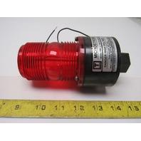 Tomar Microstrobe Model 490 120V 50/60Hz Strobe Red Flashing Alert