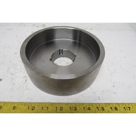 "6.96"" X 2-3/8"" Crowned Face 1610 Taper Locked Bushed Drive Pulley"