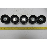 """Dematic 04869-07286 2"""" Hub Idler Pulley Round Belt Angled Live Conveyor Lot/5"""
