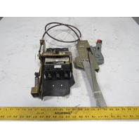 Square D FHL36030 30A Circuit Breaker W/9422CFA51 Cable Operator Mechanism
