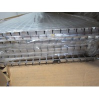"5/8"" Grid Reflective Light Fixture Parabolic Louver 47"" x 13"" Lot Of 10"