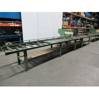 """Copco 47A-30LH 7.5Hp Automatic Cut Radial Arm Saw 18"""" 230/460V 3Ph Roller Table"""