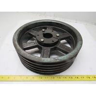 "5A12.0 SF 12-3/4"" OD 5 Belt Pulley SF Bushed 1-7/8"" Bore"