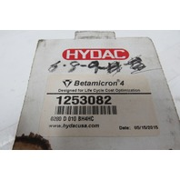 Hydac Betamicron 1253082 Hydraulic Filter Element Cartridge