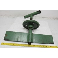 Rousselle Punch Press Incline Adjustment Screw Crank Assembly
