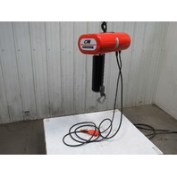 CM LODESTAR Model L 1 Ton 1Hp Electric Chain Hoist 230/460V 3Ph 19' Lift 16FPM