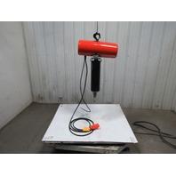 CM Lodestar Model J 1/2 Ton Electric Chain Hoist 19' Lift 32FPM 115Volt 1PH