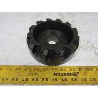 "Ingersoll 6X2K06R01 Max-I-Plex 6"" Indexing Face Mill 20° 14 Edge 1-1/2"" Arbor"