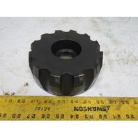 """Ingersoll 6L6B06R02 Max-I-Cut 6"""" Indexing 12 Flute Face Mill 1-1/2"""" Arbor"""