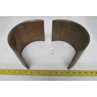 """7-1/2"""" OD Brass Shaft Wear Lining 7"""" ID 5-3/8"""" Wide Bushing"""