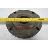 "9-5/16"" OD 2-3/4-6 Thread Scroll Lathe Flat Back Chuck Adapter Plate"