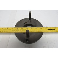 """6-1/4"""" Raised Face Lathe Face Plate D1-4 Camlock Mounting"""