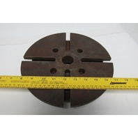 "10"" T-Slot Lathe Faceplate 4 Bolt Mounting"