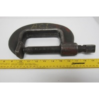 "Williams CC-4AA Extra Heavy Duty Drop Forge ""C"" Clamp 3"" Throat"
