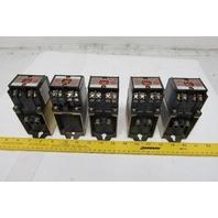 Allen Bradley 700DC-PK400Z24 Ser. A Master Control DC Relay Type PK Lot of 5