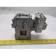 Allen Bradley 100-C09D*10 3 Pole Contactor W/193-EA1CB Over Load .032-1.0A