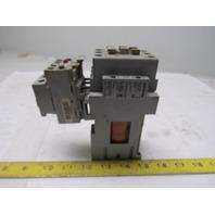 Allen Bradley 100-C37DJ10 3 Pole Contactor W/193-EA1HC Over Load 12-37A