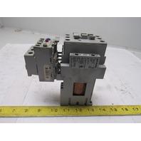 Allen Bradley 100-C37D*00 3 Pole Contactor W/193-EA1HC Over Load 12-37A