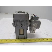 Allen Bradley 100-C43D*00 3 Pole Contactor W/193-EA1JD Over Load 14-45A