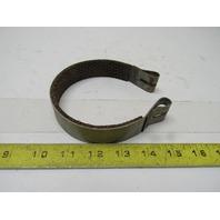"""065 4""""  Metal Impregnated Woven Brake Lining Brake Band No Pin"""