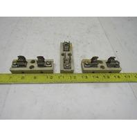 Efen C4062 30A 250V Ceramic Fuse Block Holder 1 Pole Lot of 3