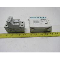 Siemens 3NW7 021 600V 30A 2 Pole Fuse Block Lot Of 2
