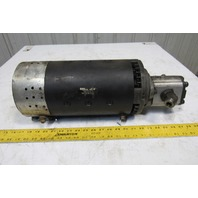 Clark Fork Lift Electric Motor 36/48VDC W/Parker 3349111877 Hydraulic Pump