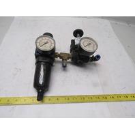 Siemens 04300-90133 Double Regulated Air Pressure Filter Regulator Assembly