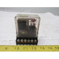 Struthers Dunn 219BBX198  125VDC Relay W/Base Westinghouse 2355C01-H04