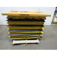 "Econo Lift 3LDL3610 1000lb Capacity Hydraulic Scissor Lift 460V 56x48"" 5""to 39"""