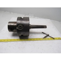 The Standard Tool Company Model #3 Morse #4 Taper Offset 2 Jaw Adjustable Chuck