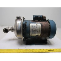 Gould 1/2Hp 1x1-1/4x6 Centrifugal Pump 115/208-230 1Ph 3450RPM