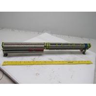 Phoenix Contact DIKD1,5 Sensor Actuator Terminal Block Ground DIN Rail Assembly