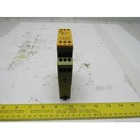Pilz PZE X4V 0.5/24VDC 4n/o fix Safety Relay