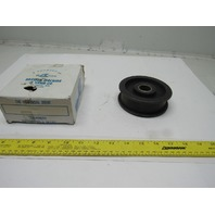 "Brewer Machine & Gear P1F 4-1/2"" OD Cast Iron Tensioner Belt Roller 1""  Bore"