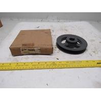 "Browning BK60X1 V-Belt Pulley - 4L, 5L, A, B Belt  1 Groove, 5.75 in OD 1"" Bore"